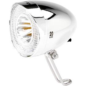 XLC LED Retro Faretto anteriore incl. Riflettore, argento